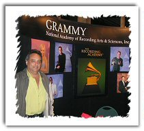 Image of Craig Deanto at the 2004 Grammy awards where his CD was nominated five times.