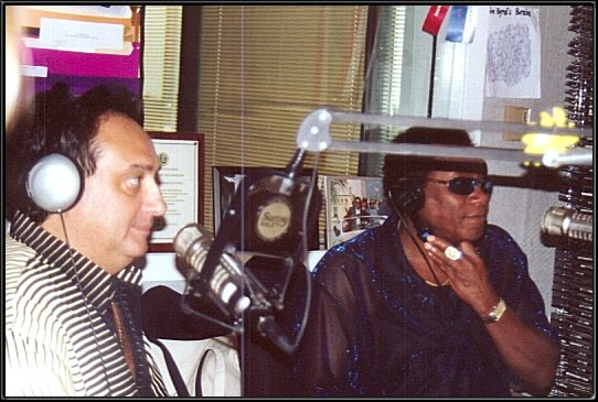 Craig and Walter during Sunny 104.3 interview.