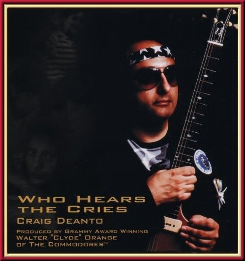 "CD Album cover for ""Who Hears The Cries"""