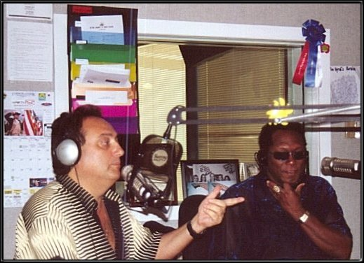 Craig Deanto & Walter Orange during interview with Sunny 104.3.