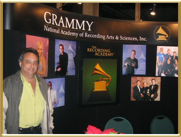 Craig attending the special presentations to 2003 Grammy® and Latin Grammy® Winners